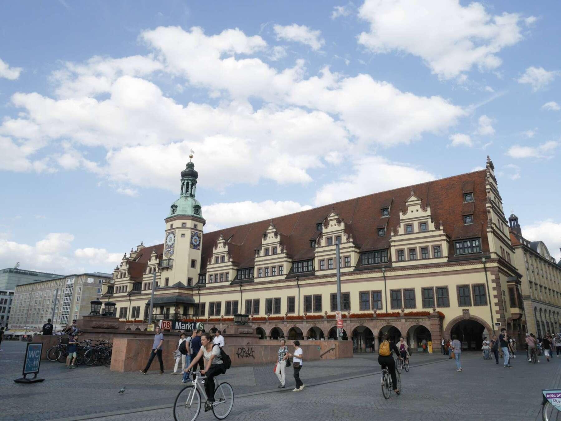 ศาลากลางเมืองเก่าของไลพ์ซิก (old city hall Leipzig)