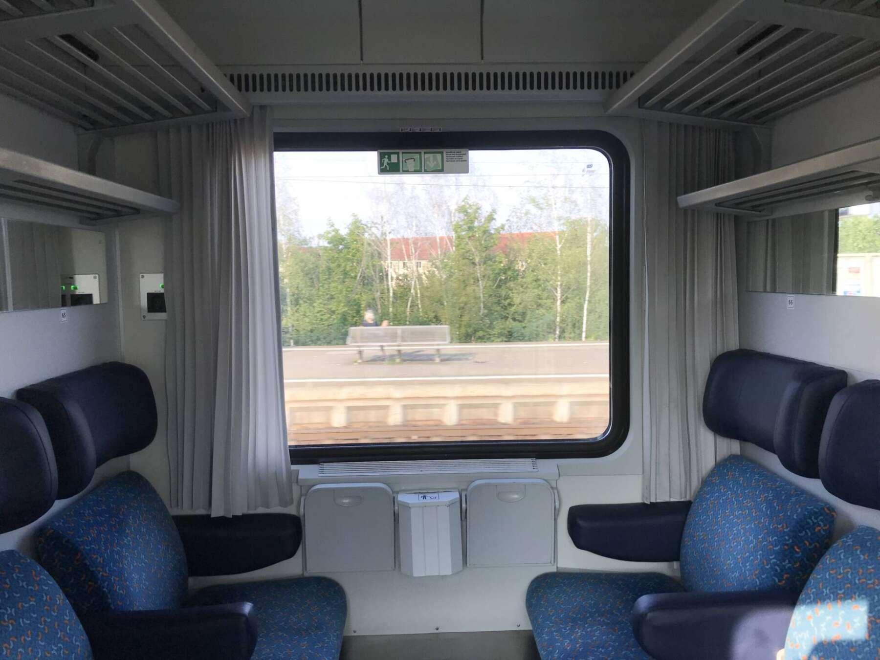 นั่งรถไฟจากเยอรมันไปปราก