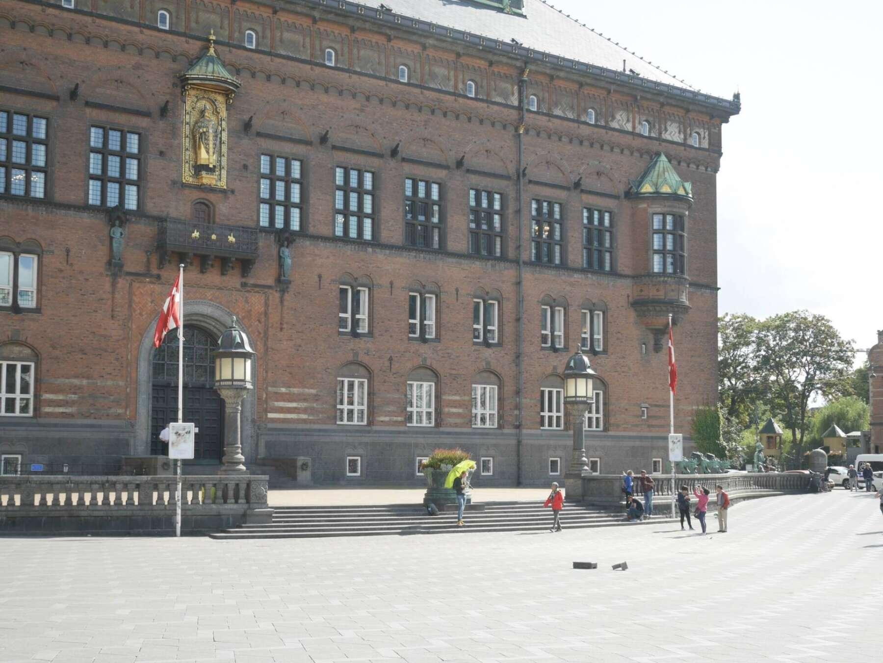 จุดนับพบของ Free walking tour Copenhagen