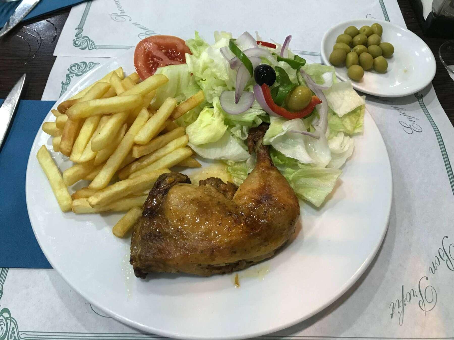 ร้านอาหาร local ในบาร์เซโลนา