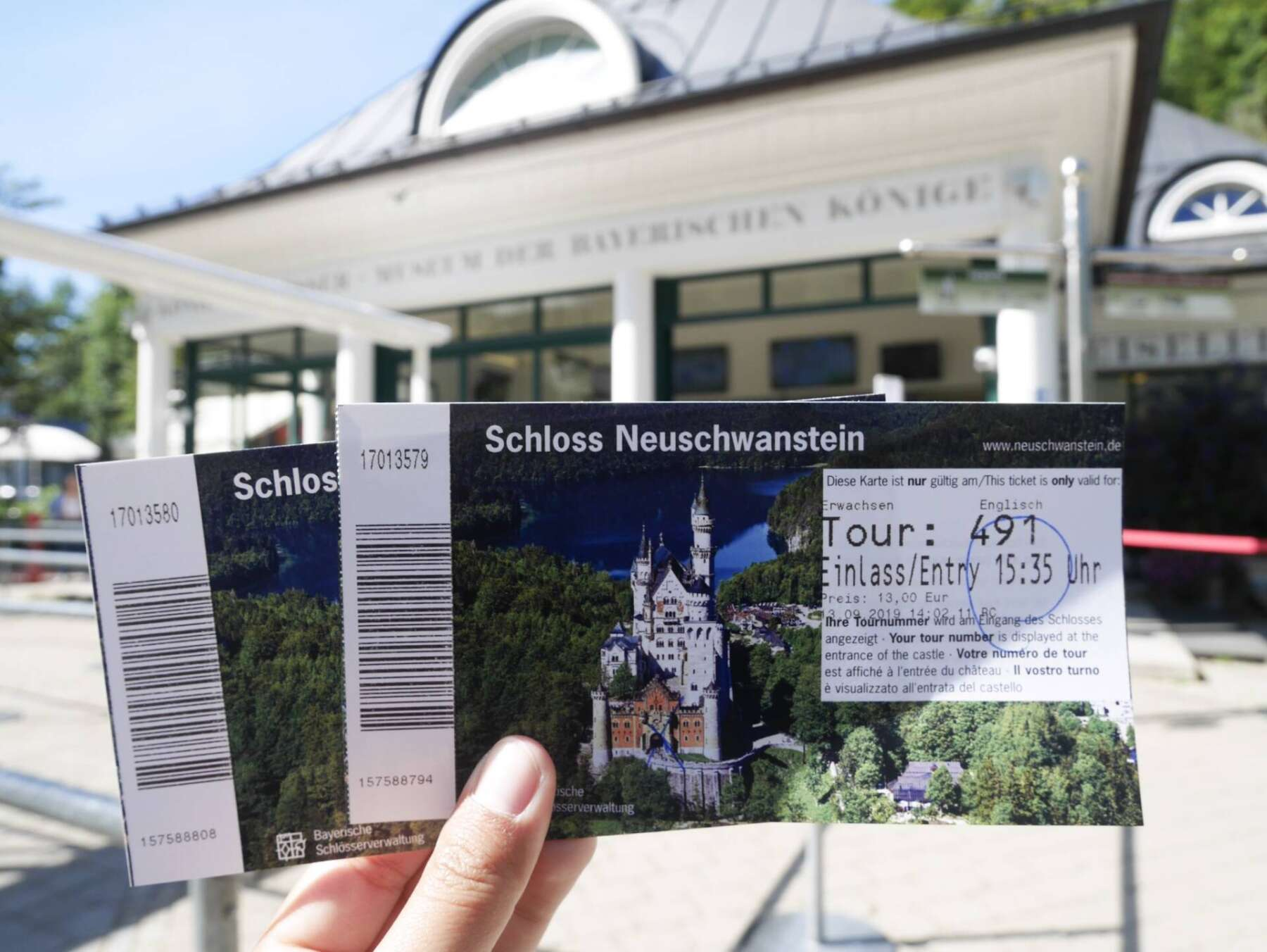 Ticket-Center Hohenschwangau