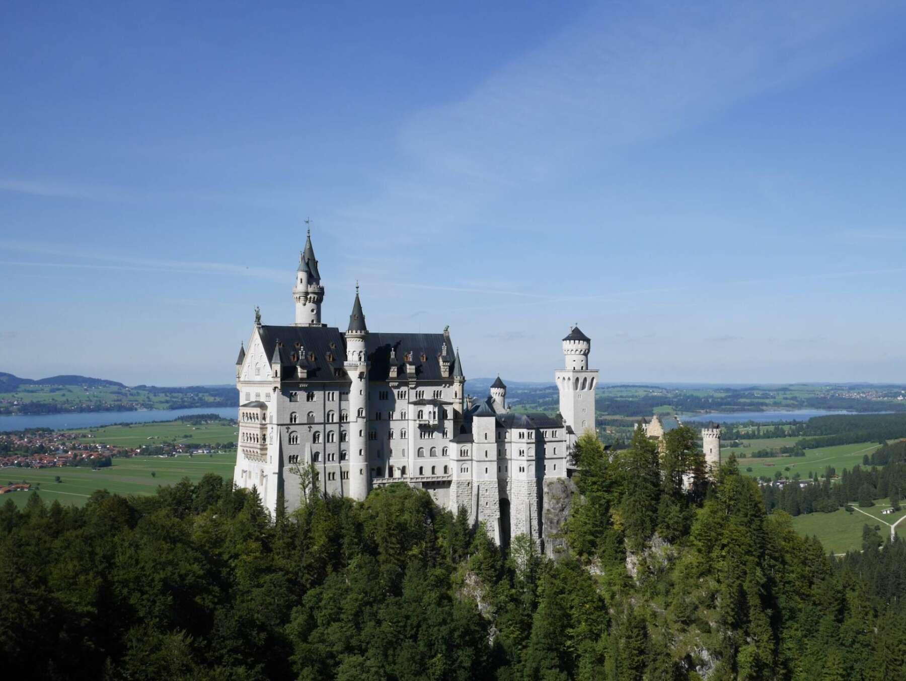 ปราสาทนอยชวานสไตน์ (Neuschwanstein castle)