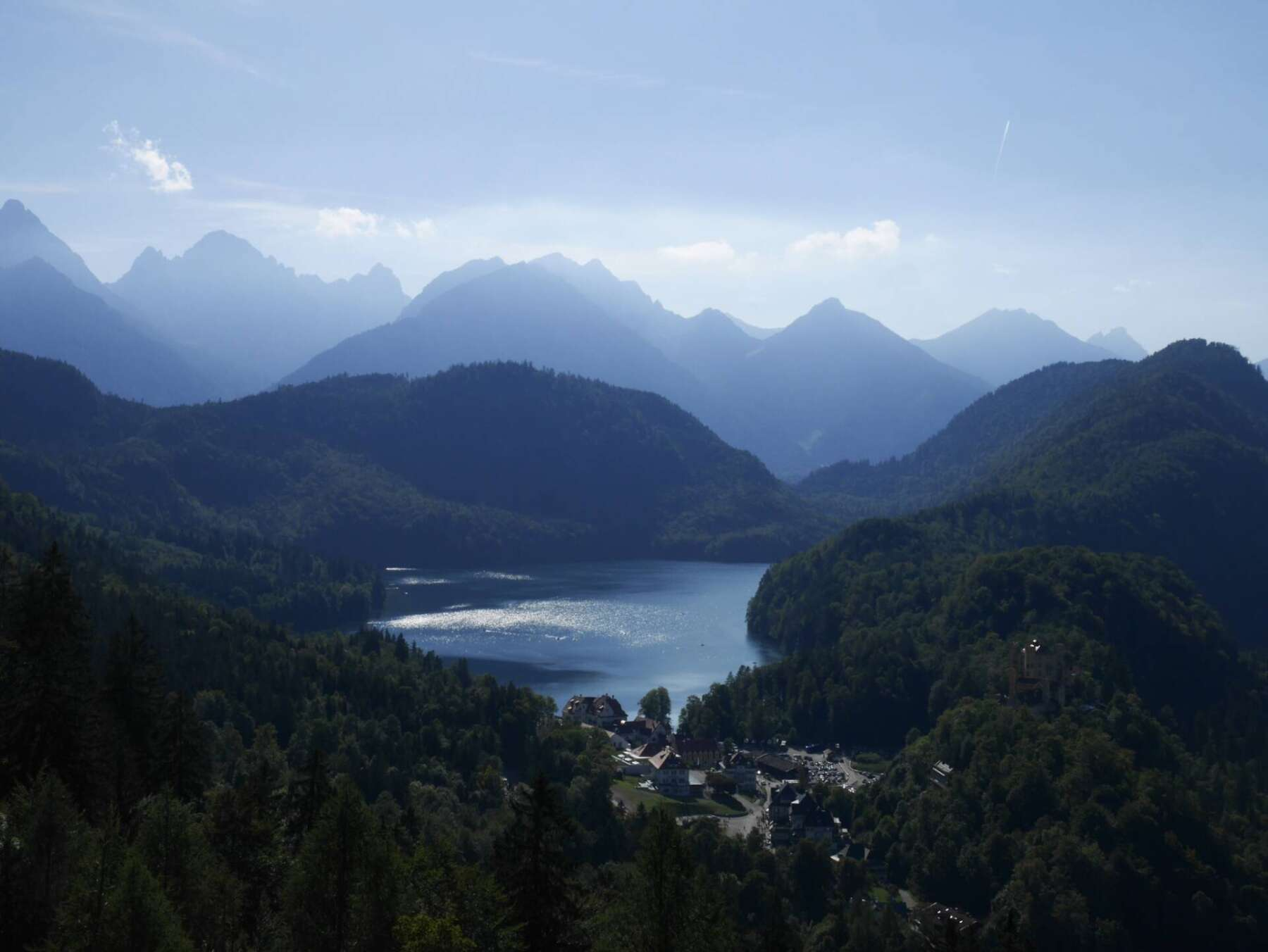 ทะเลสาบ Alpsee