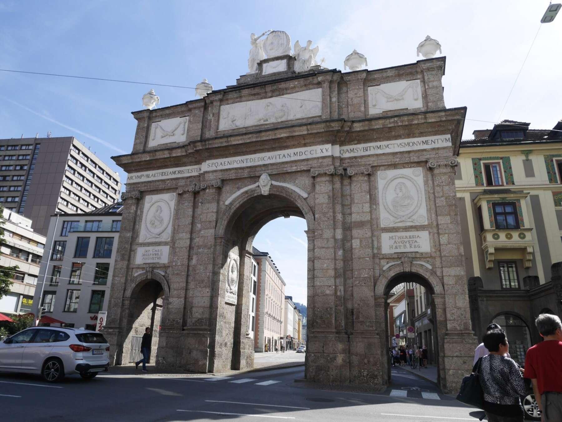 ประตูชัยอินส์บรุค (Triumphal Arch, Innsbruck)