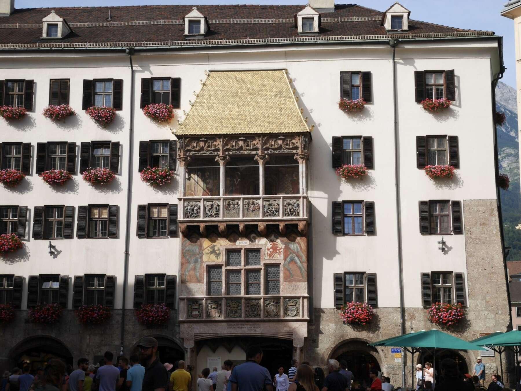 หลังคาทอง อินส์บรุค (Golden roof, Innsbruck)