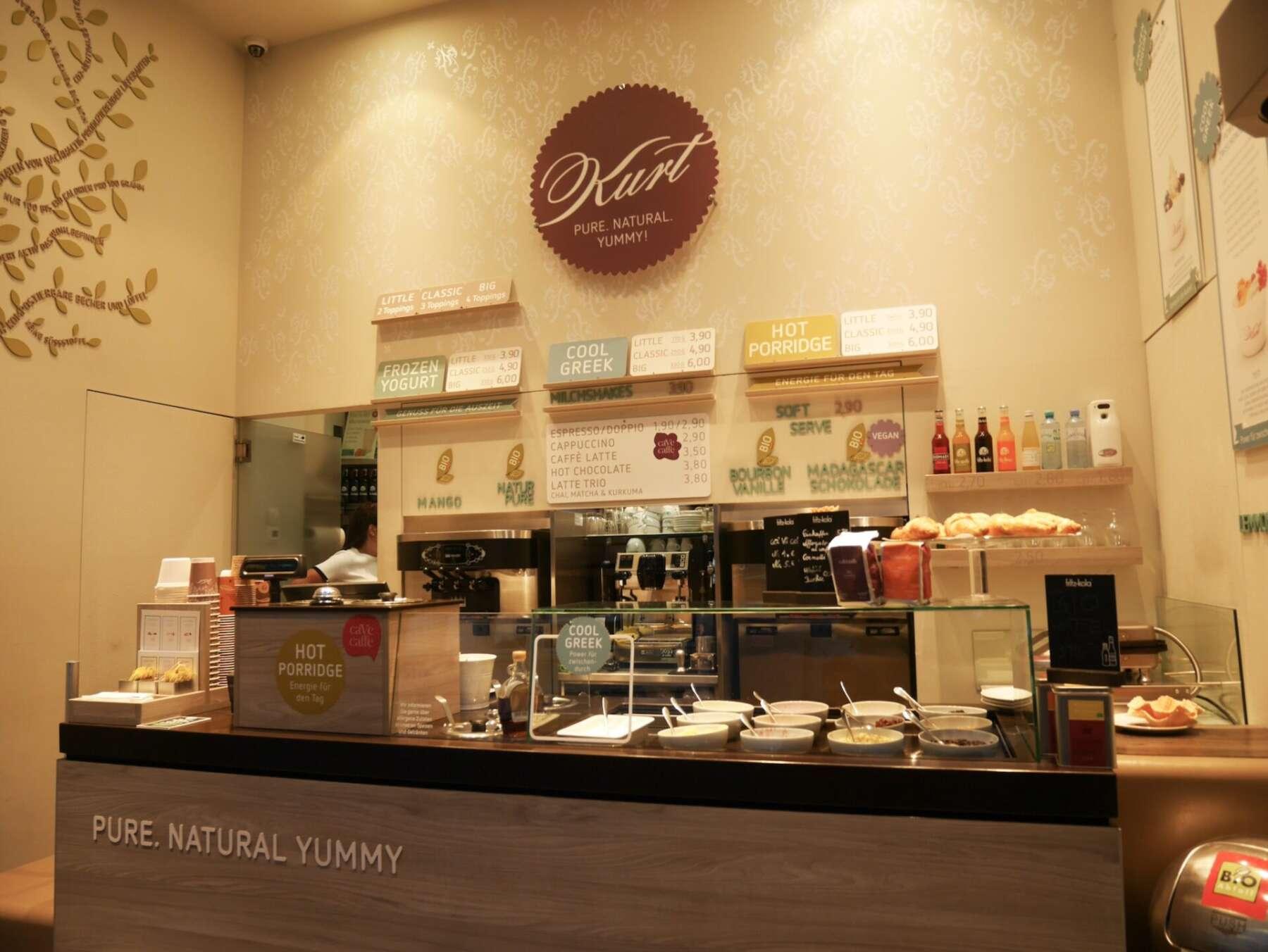 ร้านไอศครีม Kurt อินส์บรุค (Innsbruck)