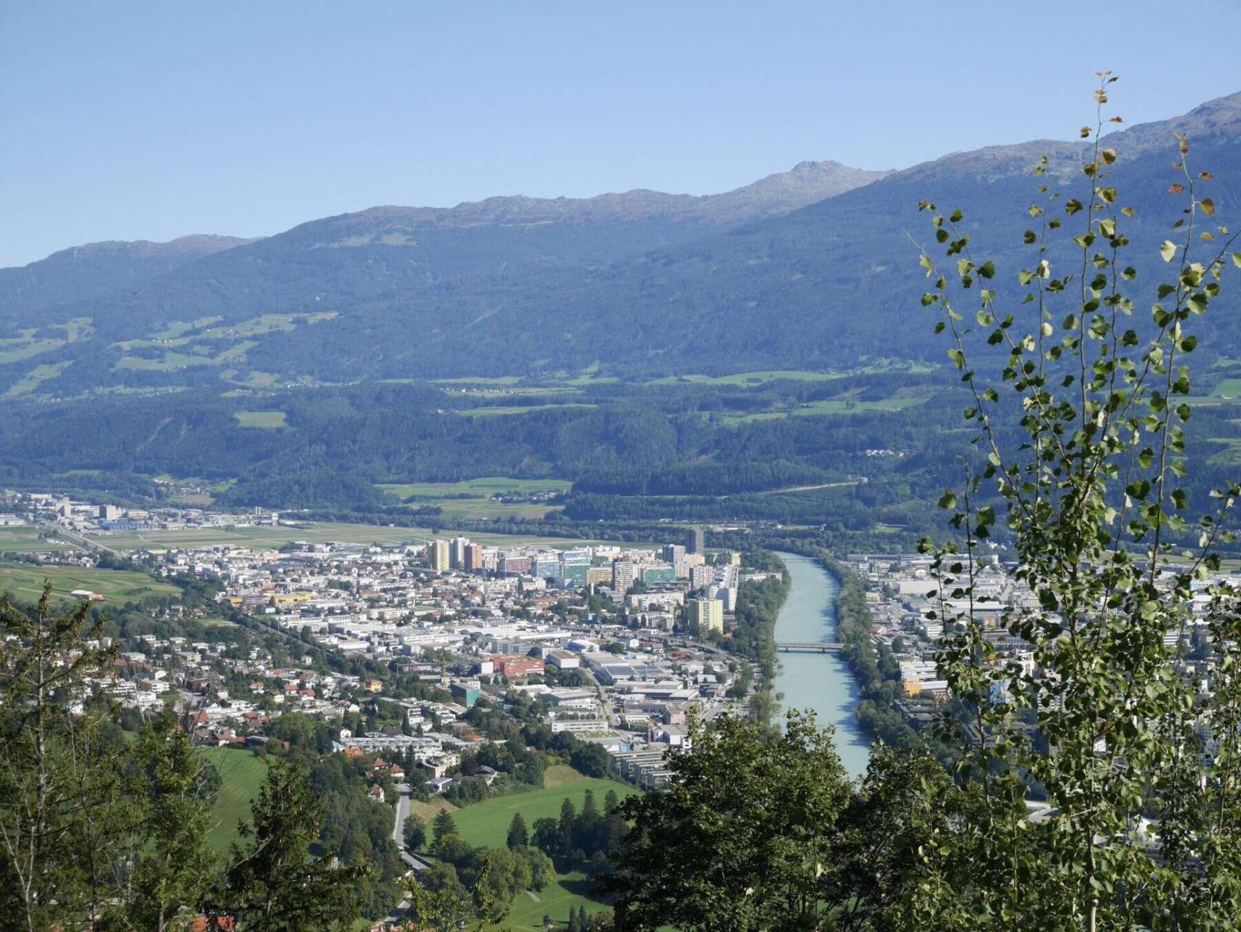 วิวของเมืองอินส์บรุค (Innsbruck)
