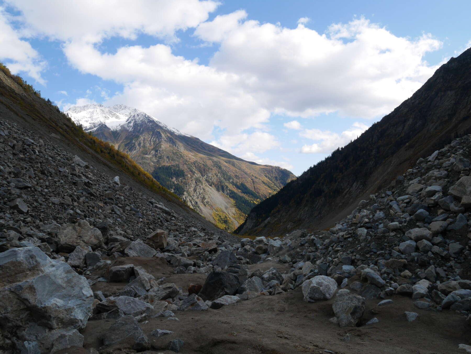 เที่ยวจอร์เจีย Chalaadi Glacier